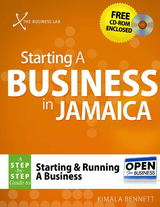 "Business Book Cover Zwart ~ New book ""starting a business in jamaica the"