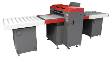 The new GO 24XL UV Flatbed Printer.