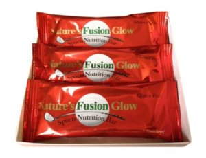 Don't grab just any nutrition bar - Treat yourself to a world class gourmet bar – the Made in U.S.A. 3-Pack Natures Fusion Glow Bar… it is delicious and distinctive taste of gourmet food ingredients WITHOUT additives, gluten, fillers, sugars, sucrose or preservatives.