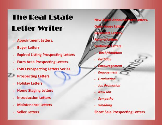 The Real Estate Letter Writer